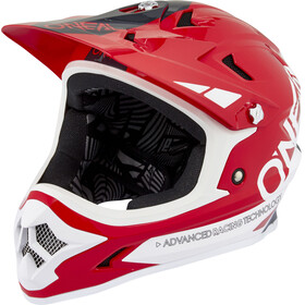 ONeal Backflip RL2 casco per bici rosso/bianco